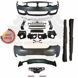 14-19 F32 Coupe F33 Convertible Msport Mtech Front Rear Bumper Sides 428 430 Pdc