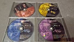 Wing Commander Iii 3 Heart Of The Tiger Pc Ms-dos Cd-rom 4 Disc Set + Documents