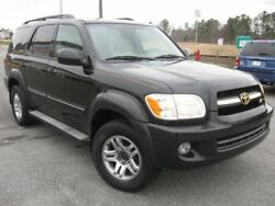 2006 Sequoia Limited 2006 Toyota Sequoia Limited 201536 Miles Black Sport Utility Gas V8 4.7L285 Aut