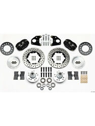 Wilwood Disc Brakes Dynalite Pro Series Front Manual Cross-drille..140-11020-d