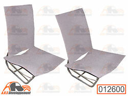 4 Foams For 2 Front Seats Separate Left And Right Citroen 2cv -12600