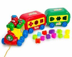 Musical Puzzle Train set With Shapes amp; Sound Magical Baby Toddler Toy Kids Gift
