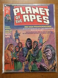 Planet Of The Apes 1 Vol 1 1974 Curtis Magazine Ploog Clean
