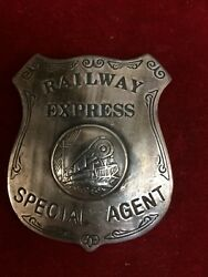 Badge Railway Express, Lawman, Police, Old West, Rail Road