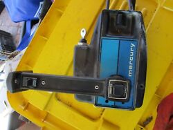mercury mariner Outboard REMOTE CONTROL BOX SIDE MOUNT  CABLES 13FT LONG WORKING