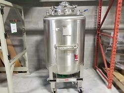 1000L BCD stainless steel pressurized tank with mixer