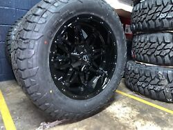 20x10 Fuel D625 Hostage 33 Wheel And Tire Package 8x6.5 Dodge Ram 2500 3500