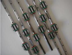 6 Guide Rail Profile With Pillow Hgh20ca Bearing Blocks 3 Rm1605 Ball Screw Kits