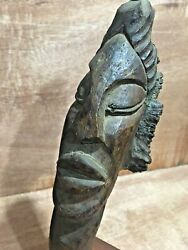 Pre 20 19th Century CONGO God Carving African from Luthiers Estate