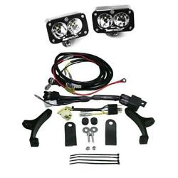 Baja Designs Polisport EZ Mount Kickstart Pro Dual Red Motorcycle Headlight Kit