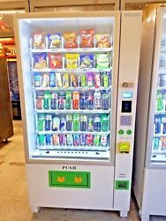 Brand New Combo Vending Machine 1 Year Warranty Comes With Credit Card
