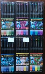 NEW! CHAMELEON MARKERS PENS LOT OF 6 - 30 Markers GREAT PRICE!!!