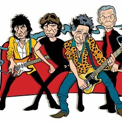 Rolling Stones By Anthony Parisi Limited Edition Print
