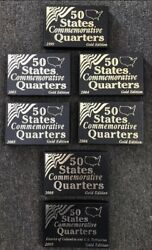 19992003-20062008 And2009 50 States Commemorative Quarters Gold Edition Coin Set