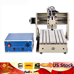 3 Axis CNC 3020T 300W Router Engraver 3D Woodworking Engraving Machine Carving