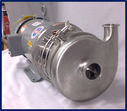 Reconditioned Pump And Motor- For Processed Foods, Dairy, Beverages, Brewery, Home