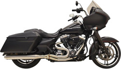 Bassani 1f18ss Long Road Rage Iii Stainless 2-into-1 Exhaust System