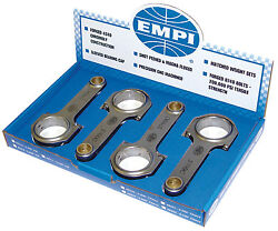 Empi 8310 H-beam 5.4 Vw Journal Connecting Rods Vw Bug T1 Air Cooled Engine T2