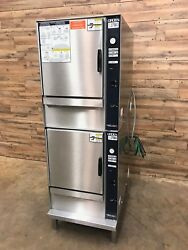 2007 Groen SSB-5E Electric Double stack Steamers 10 pan capacity total 3ph 240v