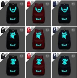 Lilo and Stitch School Messenger Bag Luminous Backpack Christmas Gift for Kids