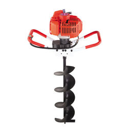 Professional Digging Hole Earth Auger 52cc Earth Digging Machine Post Digger