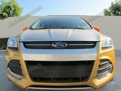 New Upgrade 3.5 Core Intercooler Kit For 2013+ Ford Escape 2.0t Blue Hose