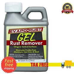 8 Oz Gel Rusty Surface Rust Cleaner Rust Remover Safe Clean Metal Copper Chrome