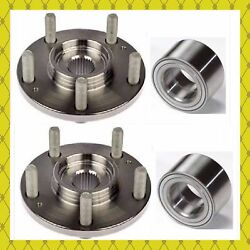 Front Wheel Hub And Bearing For 2013-2018 Ford Escape Lincoln Mkc 2015-2018 Pair