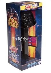1x Collectible Darth Vader With Sound Giant Pez Dispenser Set And 6 Packs Candy