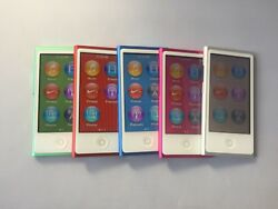 New Apple Ipod Nano 7th Generation Latest Model Discontinued Assorted Colors