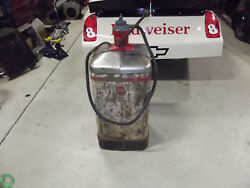 Vintage Aro Lubricator Lubester Oil Pump And Tank Gas Service Station