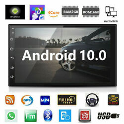 Android 10 Car Stereo Gps Navigation Radio Player Double Din Wifi 7