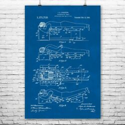 Chiropractic Table Poster Print Chiropractic Art Therapist Gift Table Blueprint