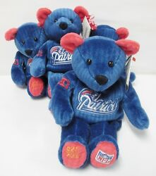 Salvino's Nfl Team Bammers New England Patriots 1 Bear - Brand New - Numbered