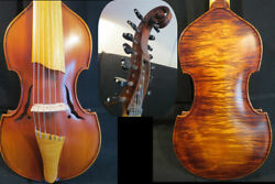 Hand Made Song Brand Maestro 7×7 Strings 14 Viola D'amore 4/4 Violin 13168