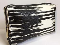 Estee Lauder White and black Cosmetic bag $9.99