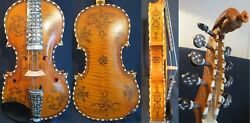 Baroque Style Song Brand Profession Concert Solo 4/4 Violin 4×5 Strings 13162