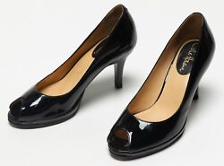 Womenand039s Cole Haan Black Patent Leather Formal Sexy High Heels Shoes Size 6 B 6b