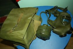 Romania Vintage Gas MAks M74 Romanian Army Size cold war Warsaw pact