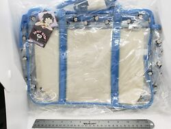 1994 Betty Boop Pvc See Through Tote Bag Vintage American Comix Blue New Tags