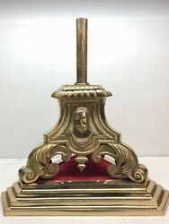 Holy Family Brass Base Stand For Church Processional Cross 119 Chalice Co.