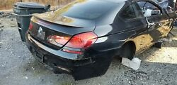 Bmw 2011-2013 M6 Coupe Rear Clip Trunk Lid Taillights Bumper Glass Quarter Oem
