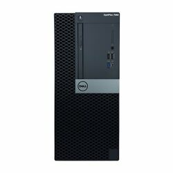 Dell Optiplex 7060 Intel I5-8500 Intel Uhd Graphics 630 Win 10 Pro Tower Desktop