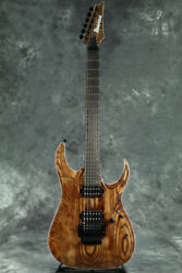 New Ibanez Axion Label Rga60al-abl Antique Brown Stained Low Gloss Guitar