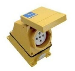 Wilco And039aand039 Series Socket Outlet Wilwmb563 1-gang 63a 500v Size-3 5-round Pin