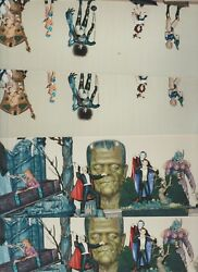 2x2 SCIENCE FICTION CONVENTION PANORAMIC ACTION FIGURES PHOTOGRAPHS HORROR