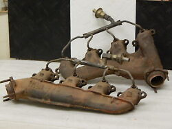 Used Original Complete Big Block Exhaust Manifolds 1967-74 Chevelle Chevrolet