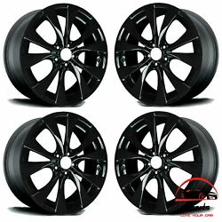 Set Of 4 Bmw X5 2007 2008-2013 20 Factory Original Staggered Wheels Rims