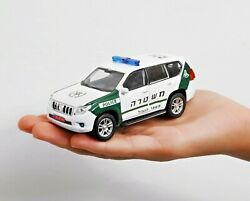 ISRAEL POLICE TOYOTA LAND CRUISER MAGAV BORDER CAR MODEL SCALE 1:43 OLD PAINTING