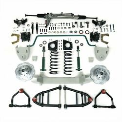 1955 - 1959 Chevy Truck Mustang Ii Front Suspension Power Rack 2 Drop Spindle